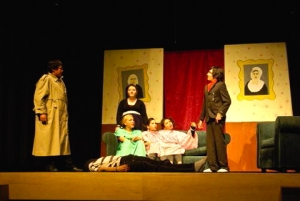 Performance Murder at Muckup Mansion Canadian Northern Drama Festival 2009